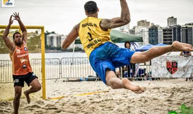 Em busca de mais um título estadual, AHPA/SESPOR participa da Taça Paraná de Handebol de Praia